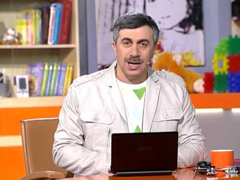 Отит у детей, что советует Доктор Комаровский?.