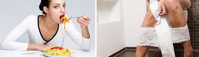 какие продукты вызывают диарею