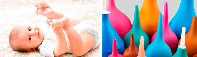 как очистить ребенку кишечник с помощью клизмы