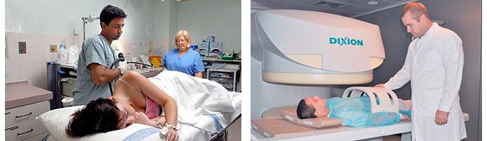 колоноскопия и МРТ