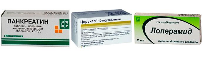 лекарства при язве и гастрите