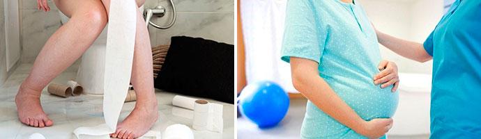 опасен ли понос во время беременности