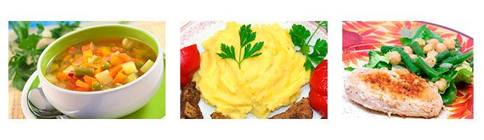 полезные блюда при болезнях желудка