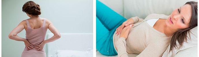 почему желудочный спазм отдает в спину