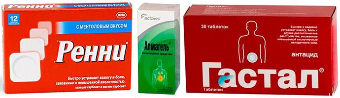 препараты, избавляющие от отрыжки