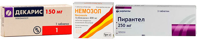 препараты от аскаридоза