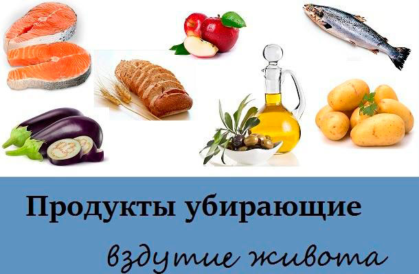 продукты, снижающие газообразование
