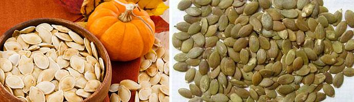 рецепты с тыквенными семенами от глистов