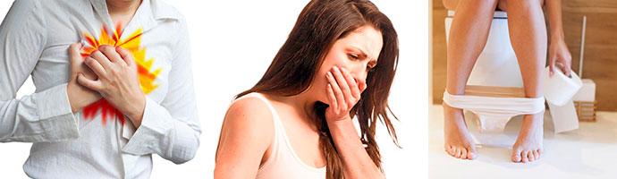 симптомы болезни желудка