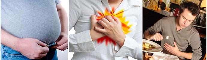 симптомы заболевания желудка