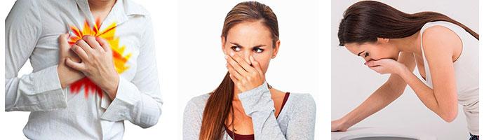симптомы, сопровождающие гастрит