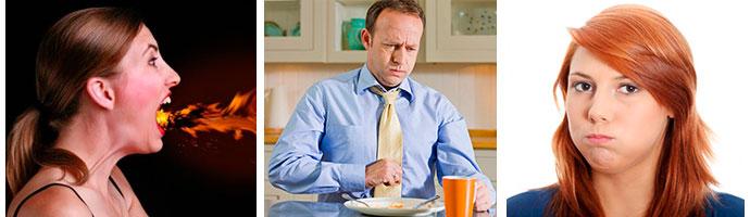 симптомы, сопутствующие боли в желудке