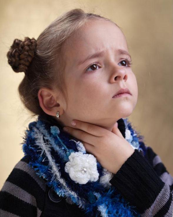 Бактериальный фарингит у детей.