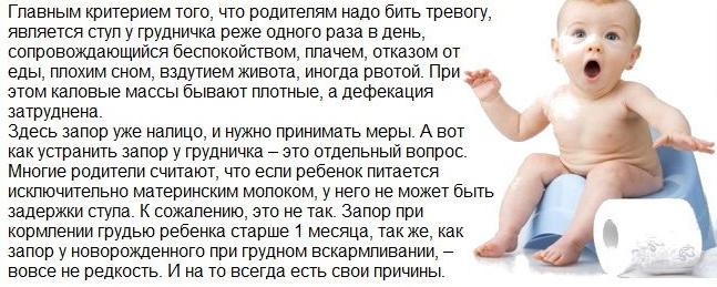 стул новорожденного ребенка