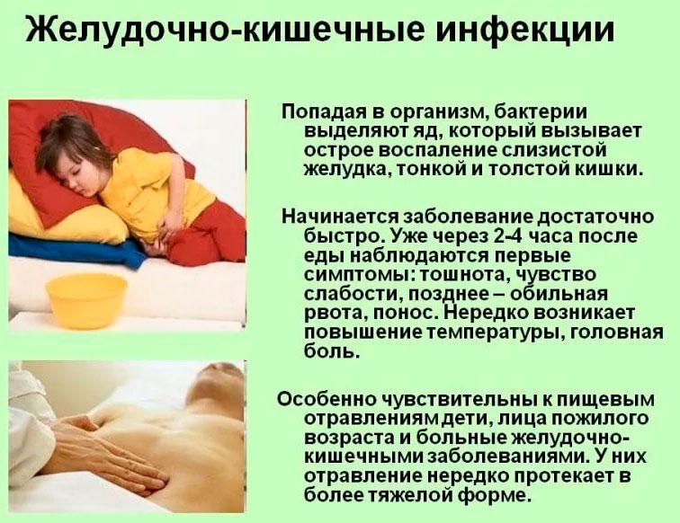 понос из-за желудочно-кишечных инфекций