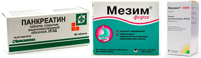 лекарства от болей при панкреатите
