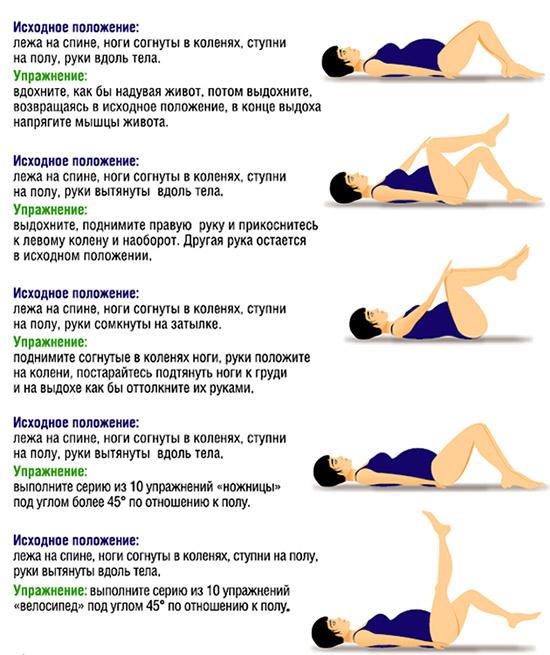 физкультура для беременных при запорах