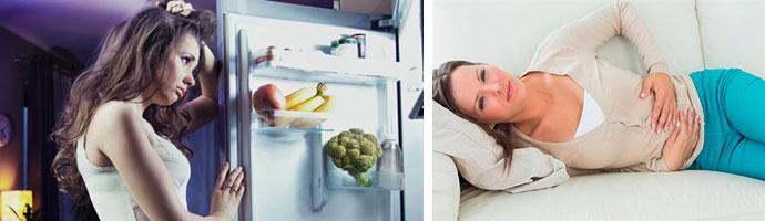 почему болит живот после еды