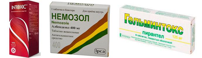 препараты от паразитов в организме