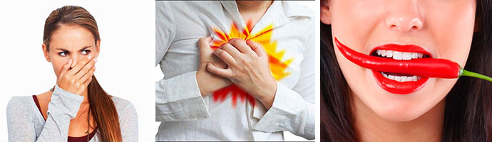 симптомы болезней желудка