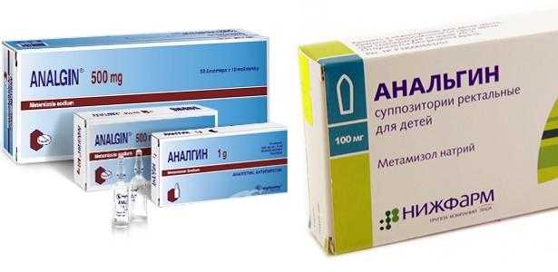 Таблетки Анальгин от головной боли